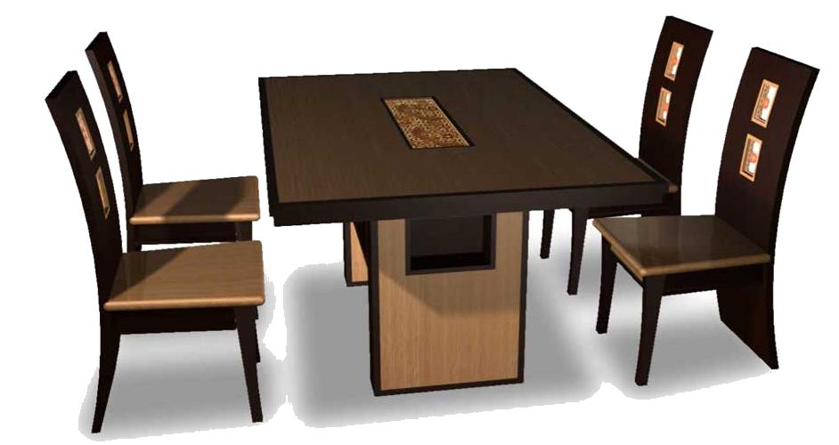 Jídelní stoly a žídle